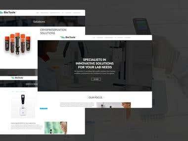 BioTools WordPress Website and Rebrand