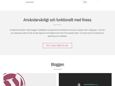 WPMedia.se - Digital Agenc (Wordpress, Boottrap, PHP)