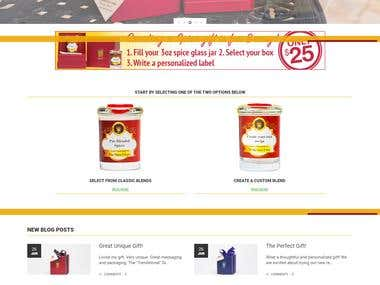 iSpiceu.com - Gift Giving Shopping Store (Woocommcerce)
