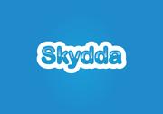 Skydda logo design