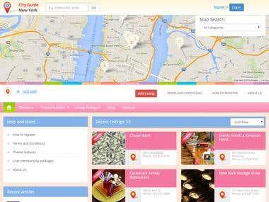 City Guide -Wordpress Theme