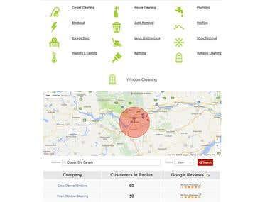 google Map API and Fusion Table