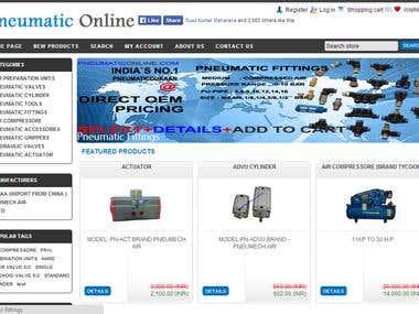 Ecommerce site pneumaticonline.com