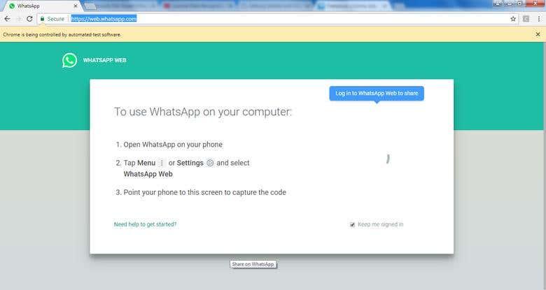 Whatsapp bot | Freelancer