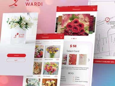Wardi iOS Application