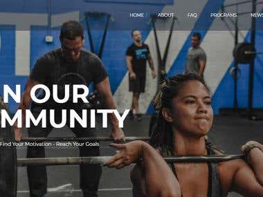 CrossFit DT1 Website
