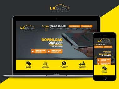 Lacity Cab - Online Cab Hiring System