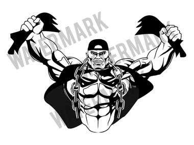 Body Building T-shirt designs