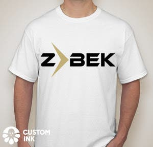 Sporty Shirt Branding Logo for ZBEK