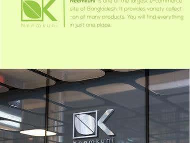 Logo for E-commerce site