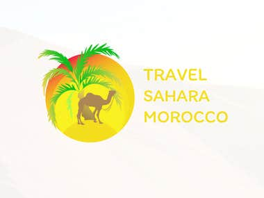 LOGO TRAVEL SAHARA
