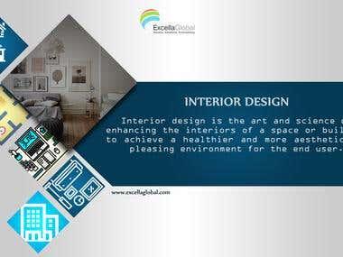 Info-graphics of Interior Design