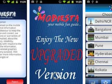 Mobiesta, What's happening in your city