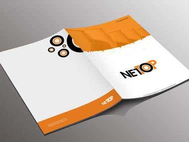 Brand design for nettop oil and gas