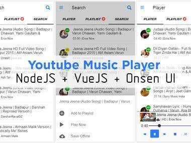 Muziq : YouTube Music Player