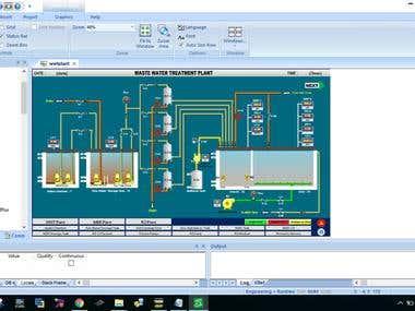 Water Treatment Plant on Indusoft web Studio (Schneider)