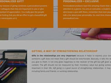 Gifting a way of strengthening relationship