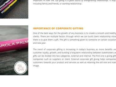 Importance of corporate gifting