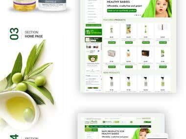 Livinglifenatural - Ecommerce Store