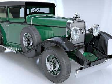 1928 Cadillac Sedan (Al Capone's car)