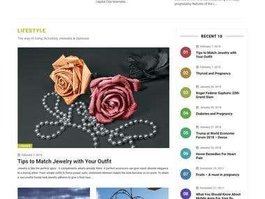 Website Design & Development - Olizin.com