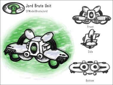 """Jord"" Faction Ship Concepts"