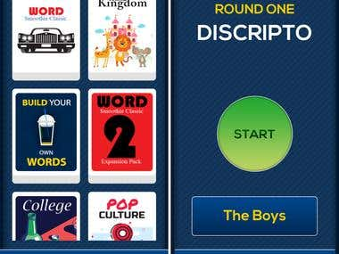 Word Smoothie - iOS game app