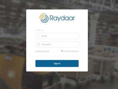Raydaar: Companies Management Website
