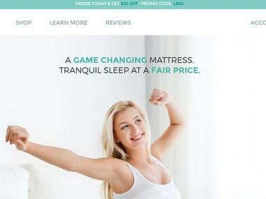 eCommerce Website: Lazybed