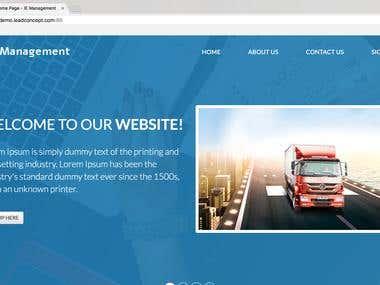 IE Management Web Application Development