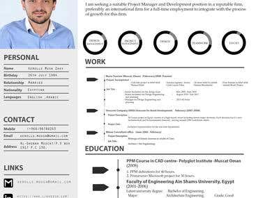 graphics creative CV