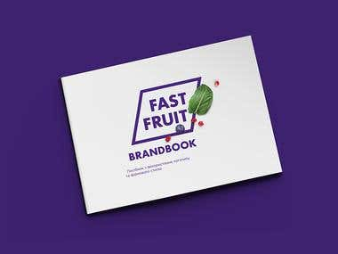 Logo and branding for fruit breakfasts delivery service