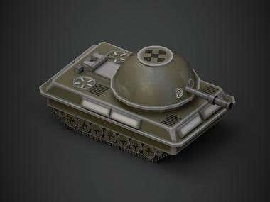 LowPoly - Tank