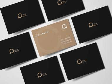 Logo and business card CM