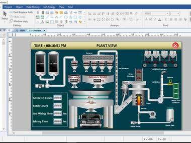 Asphalt Plant on EB Pro (Weintek)