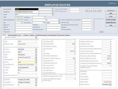 MS Access- HR Database