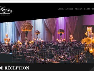 Location de salle pour mariage Montréal... (Symfony PHP)