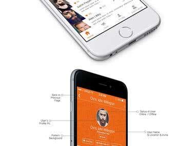 Buddypass- messaging app