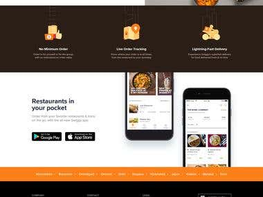 Online Food Ordering and Delivery Website