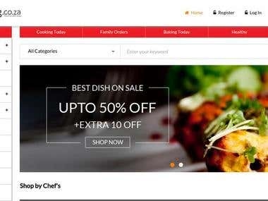 Iamcooking: Online Food Ordering Website