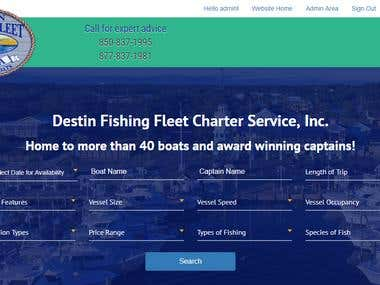 Destin Fishing Fleet