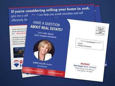 Real Estate EDDM Postcard Design