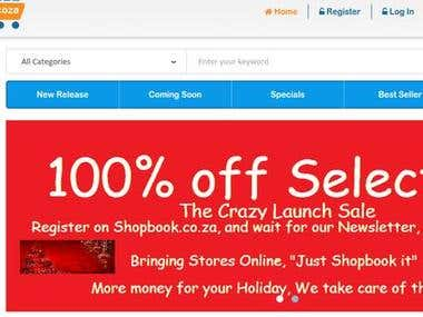 Shopbook: Online Shopping Website