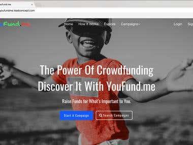 Youfundme Crowdfunding Website