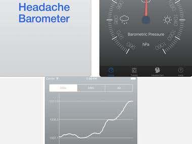 Headache Barometer Mobile App