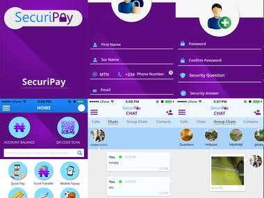 SecuriPay Mobile App Development