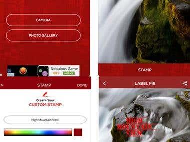 Label Me by Blam iPhone App