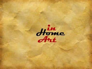 InHomeArt Logo design