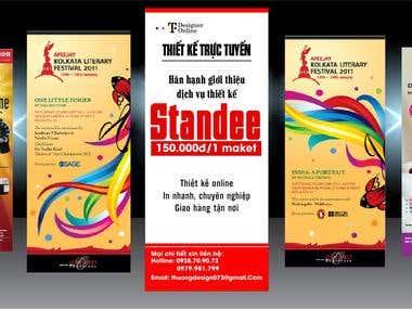 Standee design
