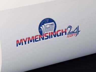 online newspaper logo